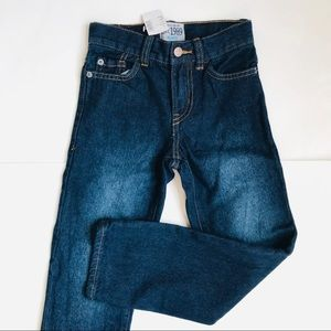 Boys Children's Place Dark Wash Straight Leg Jeans